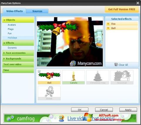 צילום מסך ManyCam Windows 7