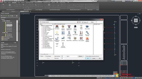 צילום מסך AutoCAD Electrical Windows 7
