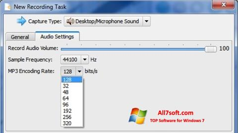 צילום מסך SMRecorder Windows 7