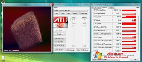 צילום מסך ATITool Windows 7