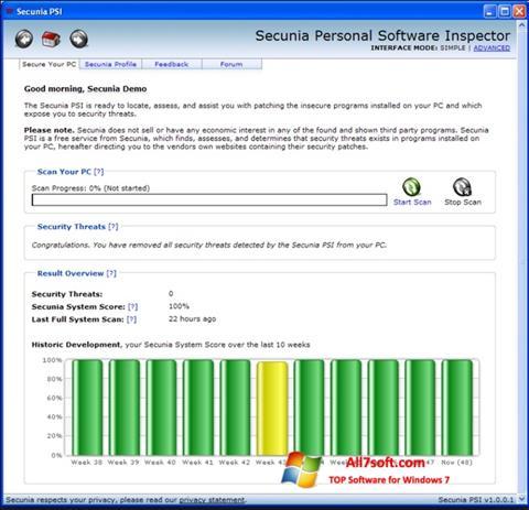 צילום מסך Psi Windows 7