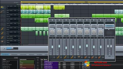 צילום מסך MAGIX Music Maker Windows 7