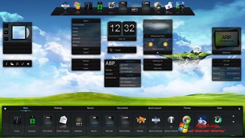 צילום מסך Winstep Nexus Windows 7