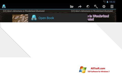 צילום מסך AlReader Windows 7
