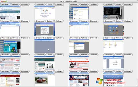 צילום מסך VNC Viewer Windows 7