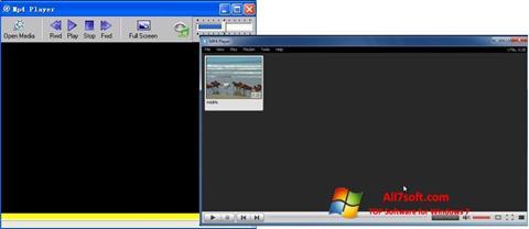 צילום מסך MP4 Player Windows 7