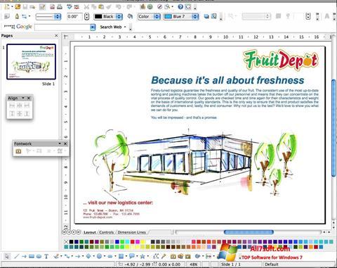 צילום מסך Apache OpenOffice Windows 7