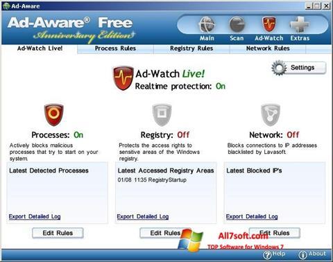 צילום מסך Ad-Aware Free Windows 7