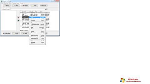 צילום מסך ArtMoney Pro Windows 7