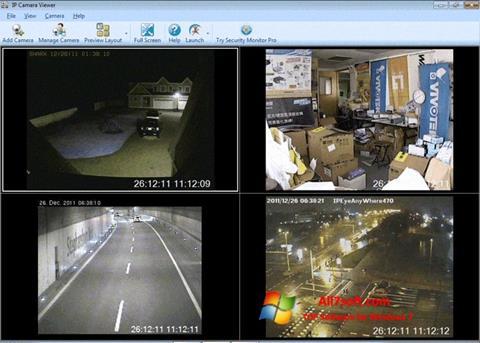צילום מסך IP Camera Viewer Windows 7