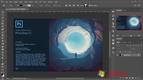 צילום מסך Adobe Photoshop Windows 7