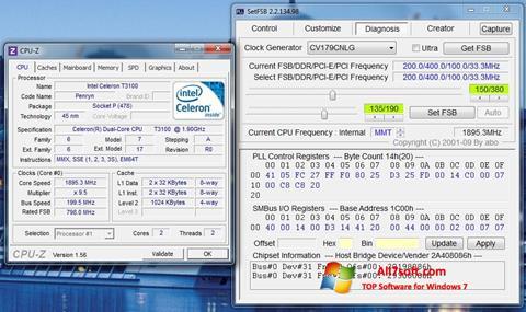 צילום מסך SetFSB Windows 7
