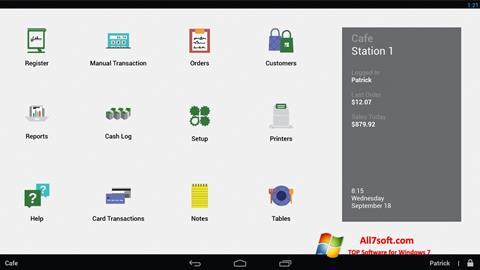 צילום מסך Clover Windows 7
