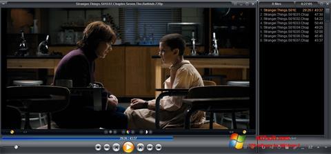 צילום מסך Zoom Player Windows 7