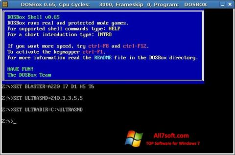 dosbox windows 7 32 bit free download