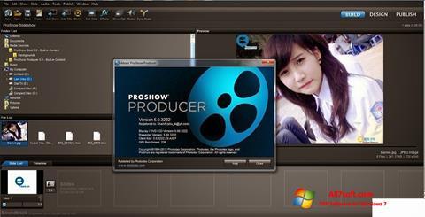 צילום מסך ProShow Producer Windows 7