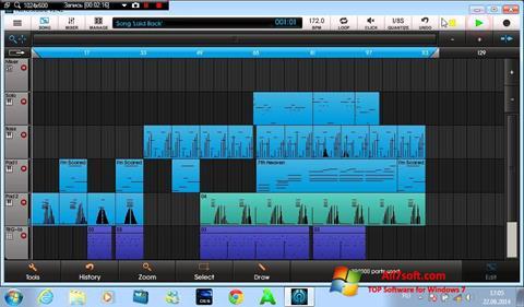 צילום מסך NanoStudio Windows 7