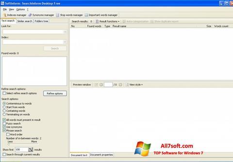 צילום מסך SearchInform Windows 7