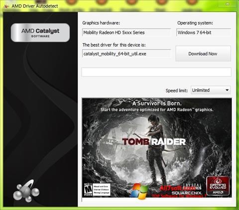 צילום מסך AMD Driver Autodetect Windows 7