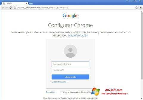 צילום מסך Google Chrome Canary Windows 7