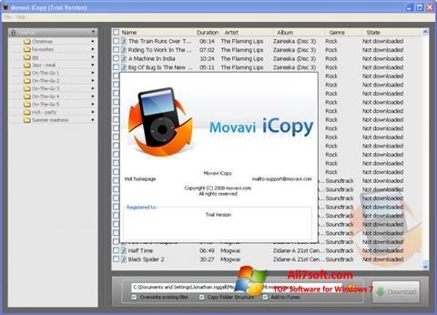 צילום מסך iCopy Windows 7