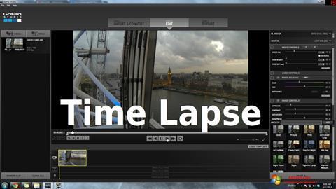 צילום מסך GoPro Studio Windows 7