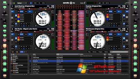 צילום מסך Serato DJ Windows 7