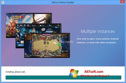 צילום מסך MEmu Windows 7