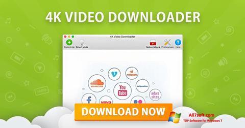 צילום מסך 4K Video Downloader Windows 7
