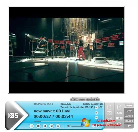 צילום מסך BSPlayer Windows 7
