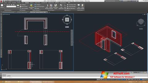 צילום מסך AutoCAD Architecture Windows 7