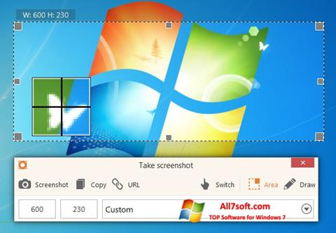 צילום מסך ScreenShot Windows 7