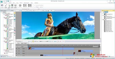 צילום מסך VSDC Free Video Editor Windows 7